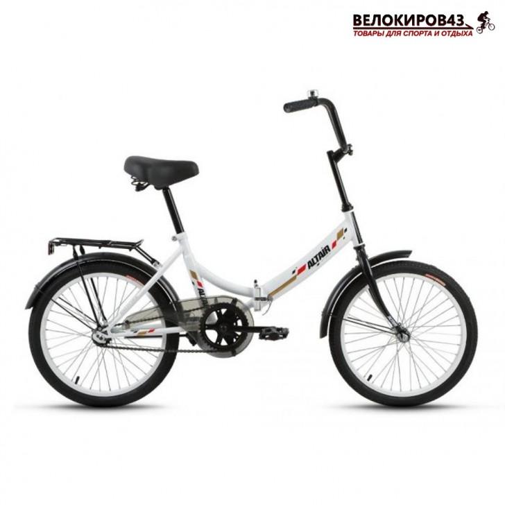 "Велосипед 20"" Altair City белый"