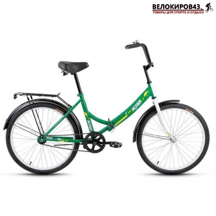"""Велосипед 24"""" Altair City. Зелёный"""