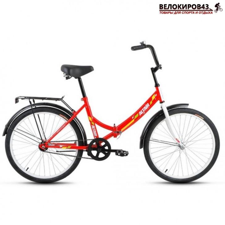 """Велосипед 24"""" Altair City. Красный"""