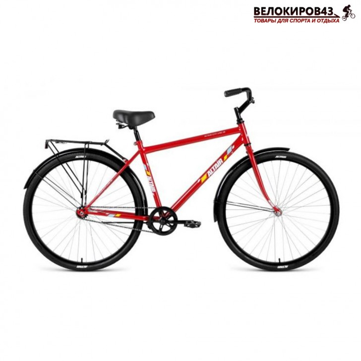 Велосипед Altair City high 28 Бордовый