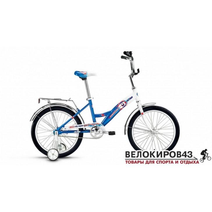 Велосипед  ALTAIR City Boy 20 Голубой