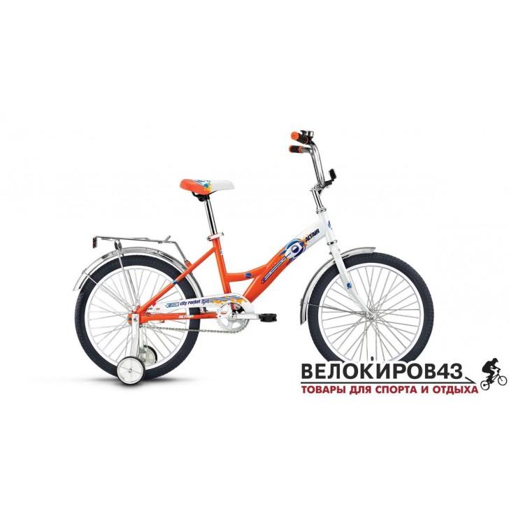 Велосипед  ALTAIR City Boy 20. Оранжевый