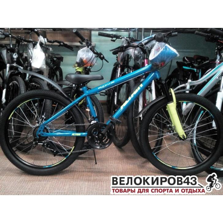 "Велосипед ALTAIR MTB HT 24 2.0 disc (24"" 18 ск. рост 14"") 2019"