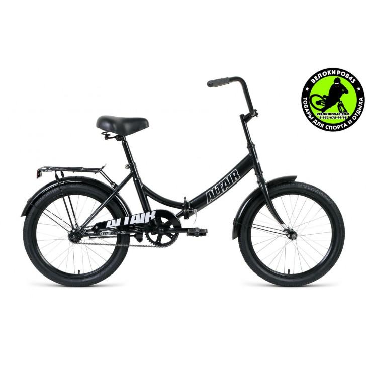 Велосипед  ALTAIR City 20 Черный 2020