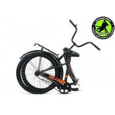 Велосипед  ALTAIR City 24 Серо-оранжевый 2020