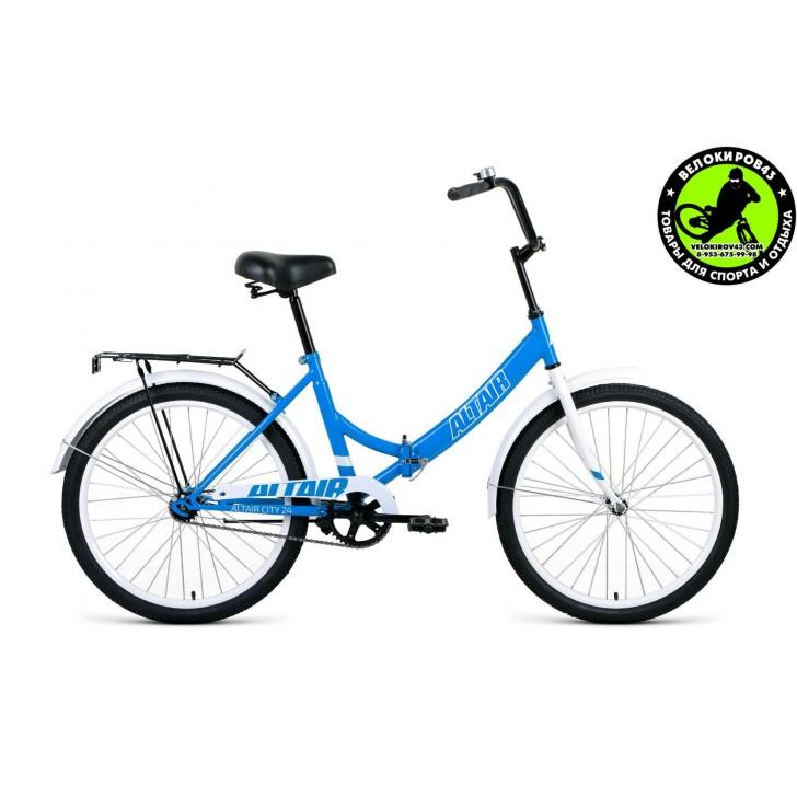 Велосипед  ALTAIR City 24 Голубой 2020
