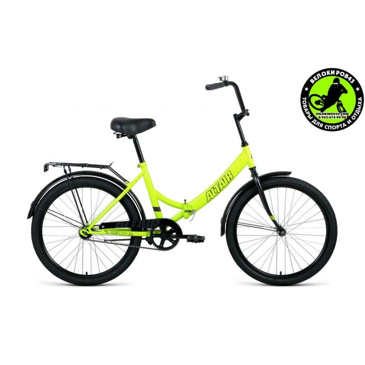 Велосипед  ALTAIR City 24 Зелёный 2020