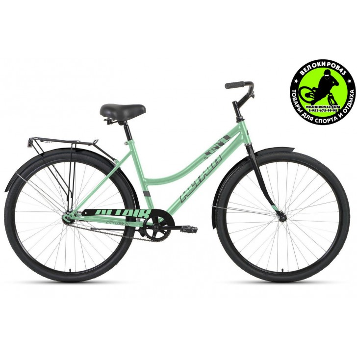 Велосипед  ALTAIR City 28 low 2020 Мятный