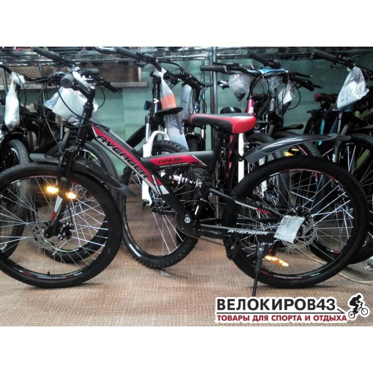 "Велосипед 24"" AVENGER F243D"