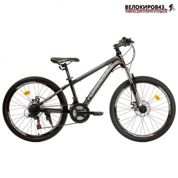 """Велосипед 24"""" Nameless J4200D чёрный"""