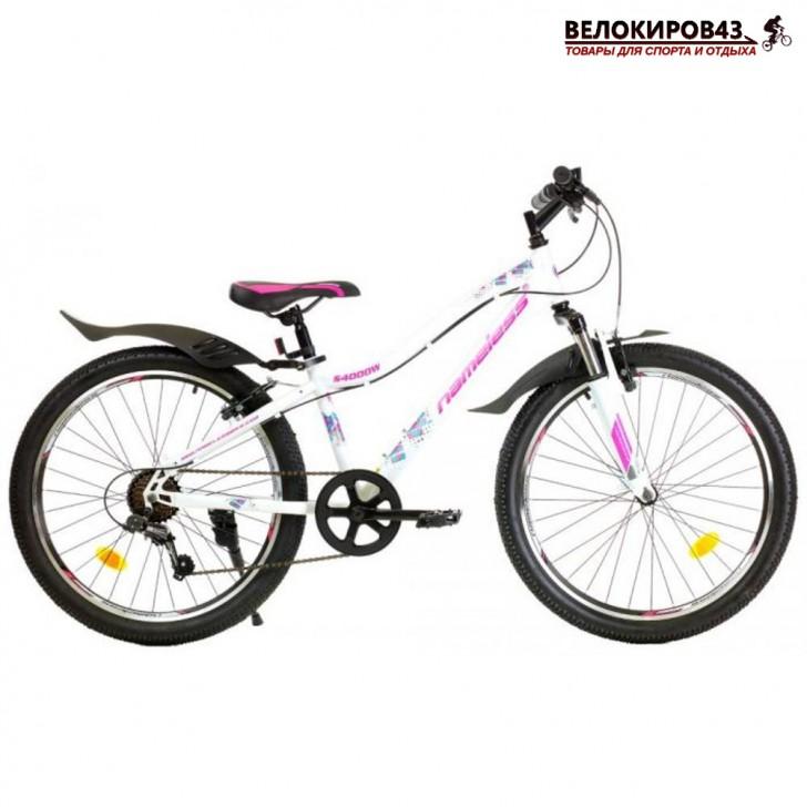 "Велосипед 24"" Nameless S4000W белый"