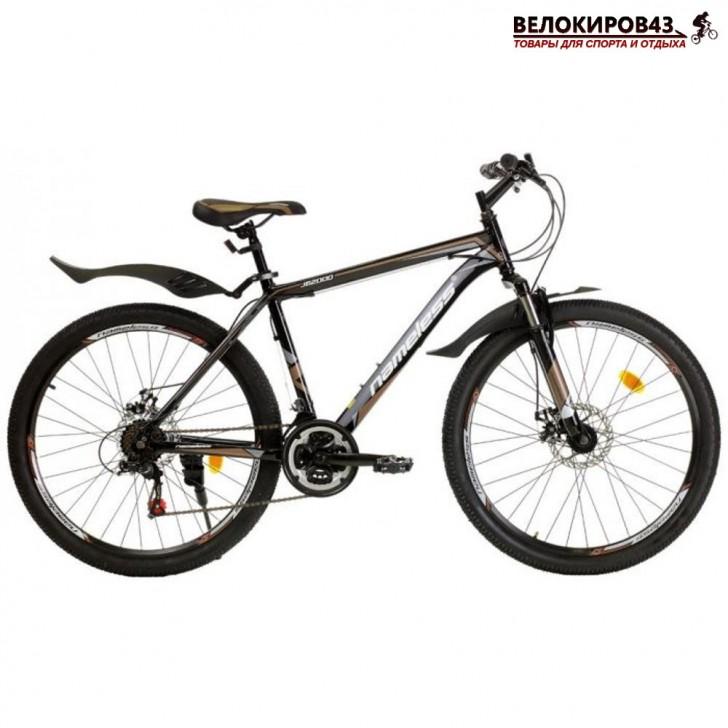 """Велосипед 26"""" Nameless J6200D чёрный/коричневый"""