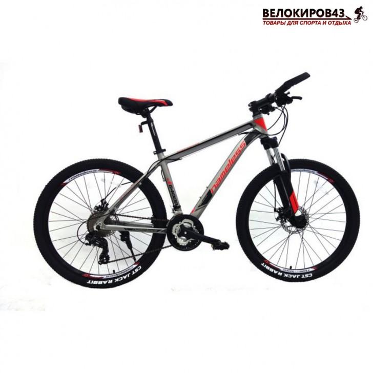 """Велосипед 26"""" Nameless J6400D красный/серый"""