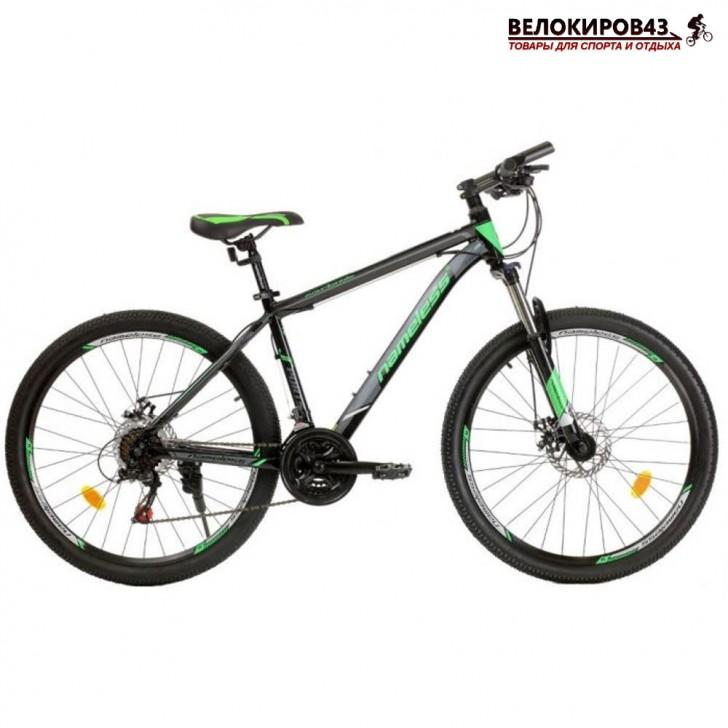 """Велосипед 26"""" Nameless J6700D чёрный/зелёный"""