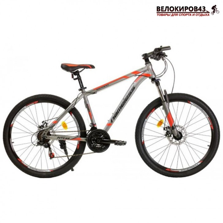 """Велосипед 26"""" Nameless S6700D серый/красный"""