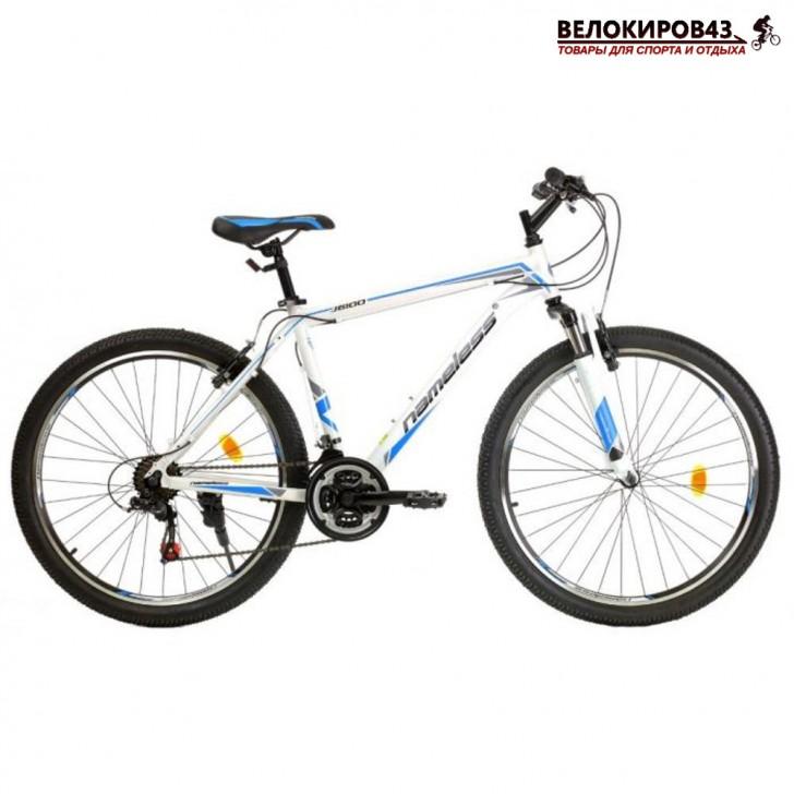 """Велосипед  26"""" Nameless J6100 белый/голубой"""