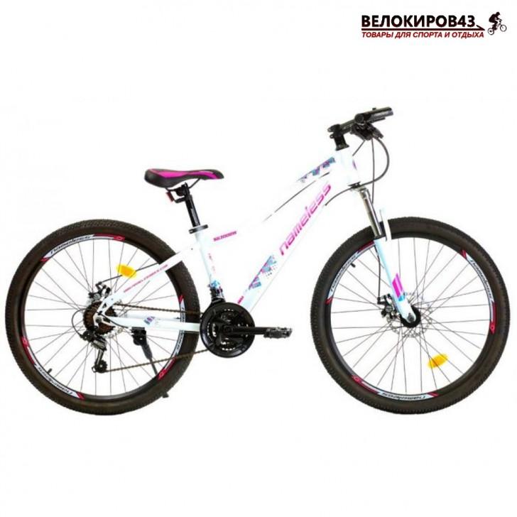 "Велосипед  26"" Nameless S6300DW белый/розовый"