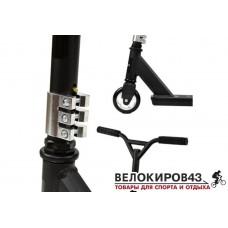 Самокат Scooter Трюковой F21692 Черный Maxi