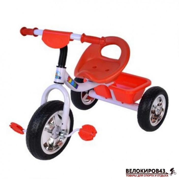 Трехколесный велосипед Чижик T006 красный