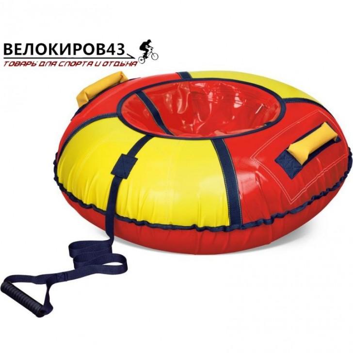 Тюбинг классик арт. ТБ1К-95 (диаметр чехла 1050 мм) Красный с жёлтым