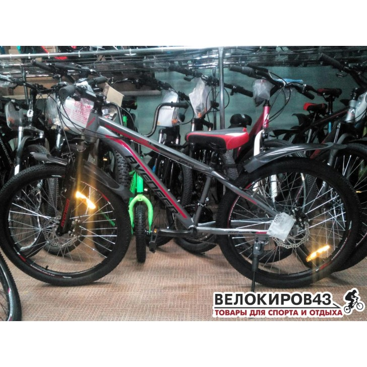 """Велосипед 24"""" Avenger C243D (2019)"""